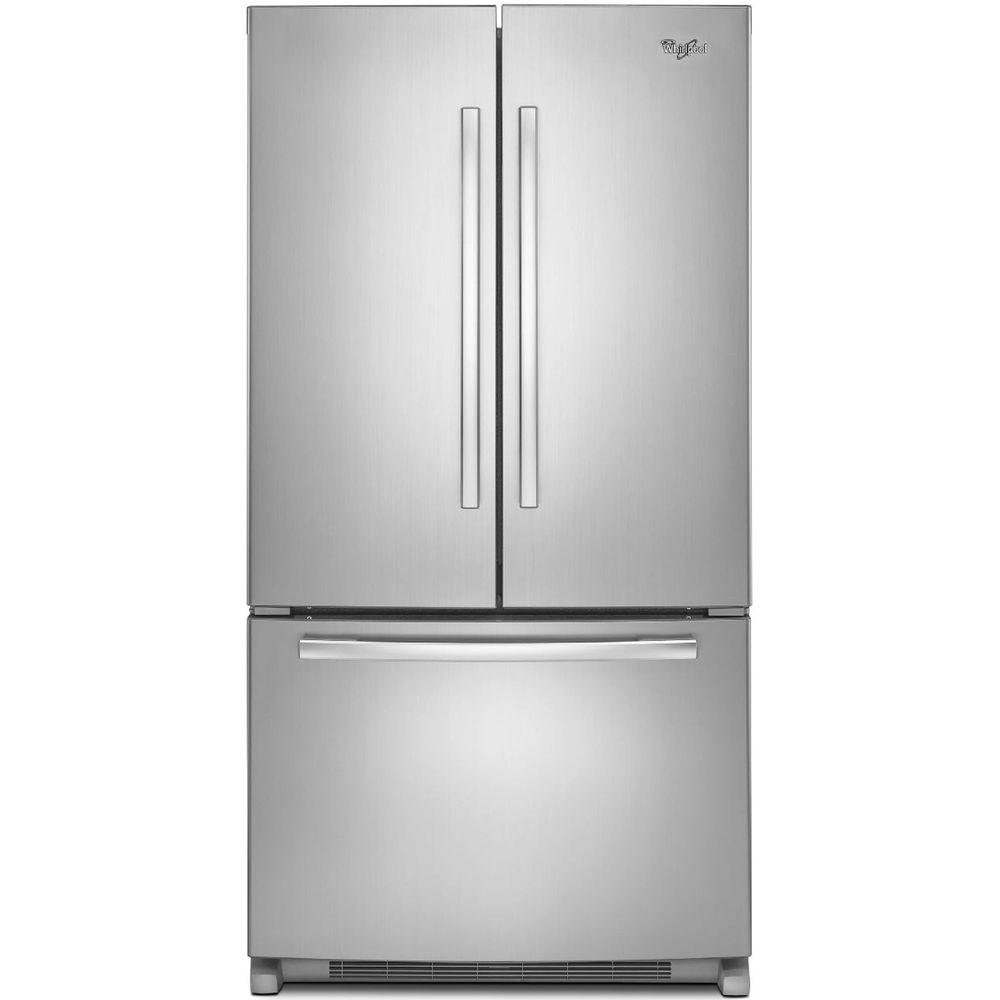 36 Inch Wide French Door Refrigerator With Interior Water Dispenser